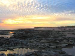 Sunset on Riddell Beach