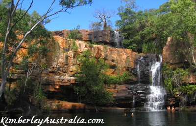 Galvans Gorge, right on the Gibb River Road