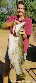 My first big Barramundi