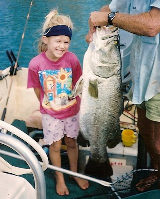 Barramundi fishing queen