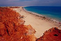 The coast near Broome, Western Australia