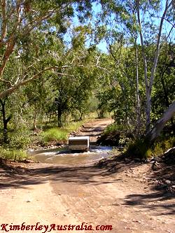 Creek crossing outside Bungle Bungles National Park