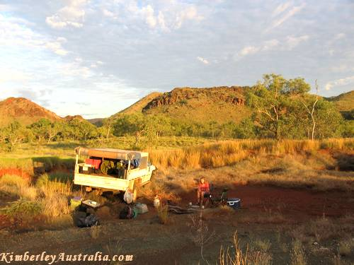 Camping Outside Purnululu National Park