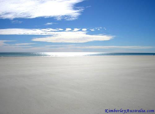 I'm pleased to announce that Cable Beach in Broome