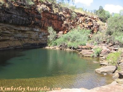 First pool of Grevillea Gorge
