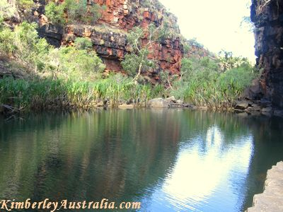 Second pool of Grevillea Gorge