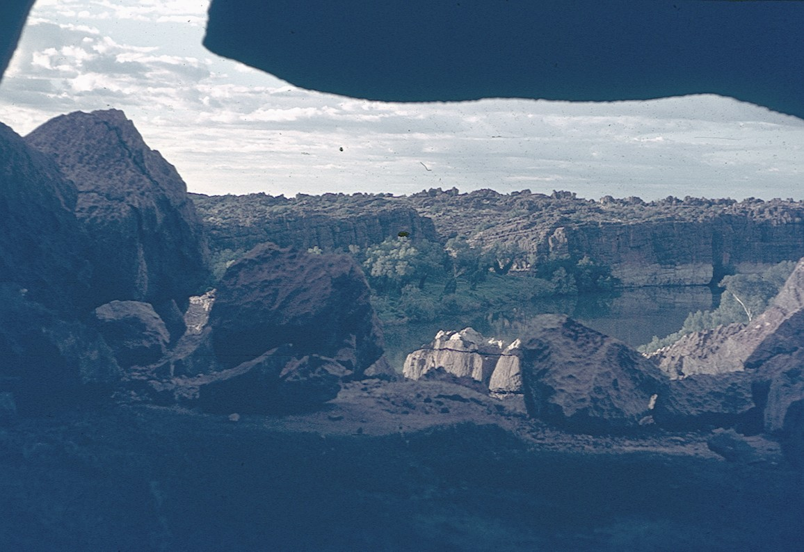 View over Geikie Gorge