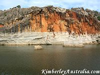 The Geikie Gorge Wall
