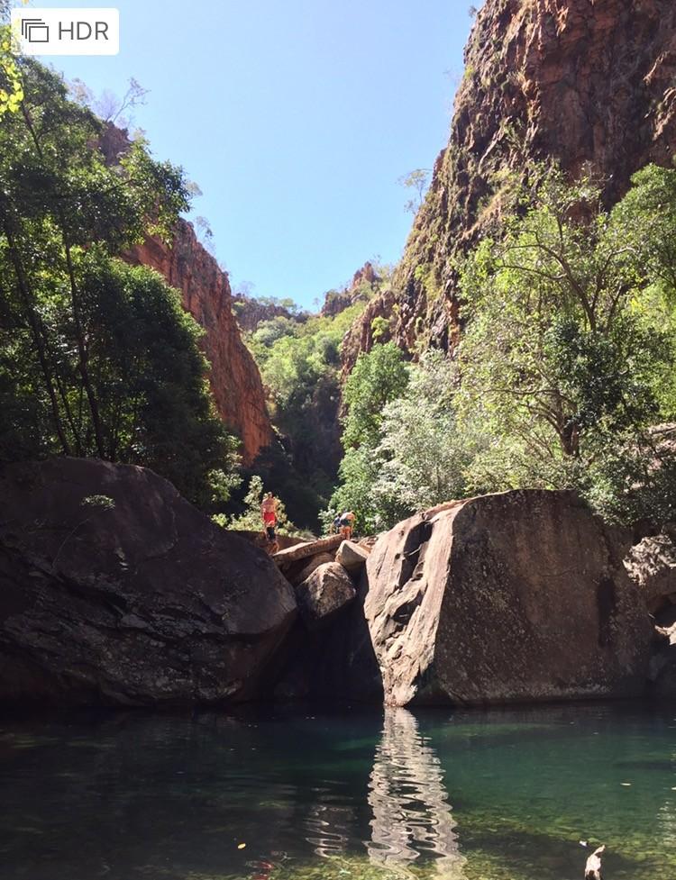 Emerald Pool at Emma Gorge