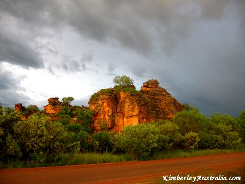 Wet season in the Kimberly