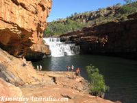 Bell Gorge, the most popular Kimberley gorge.