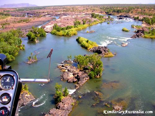 This is where you go fishing in the Kimberley