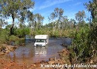 King Edward River crossing