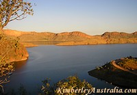 Lake Argyle near Kununurra