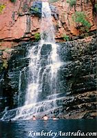 Waterfall at Lake Kununurra
