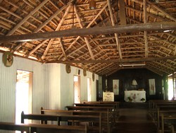 Bush church at Lombadina