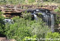 View over Little Mertens Falls
