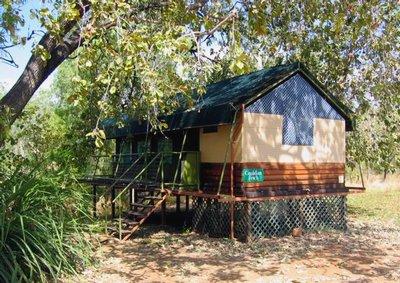 Safari tent at Mornington Wilderness Camp.