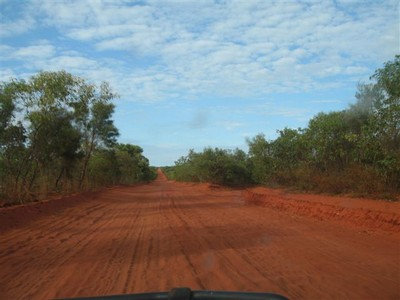 Road to Cape Leveque