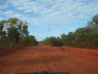 Road to Cape Leveque