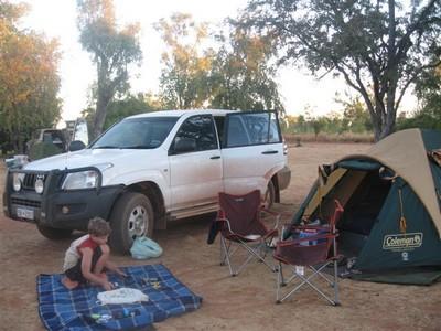 Camping at Windjana