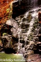 Wet Season Waterfall