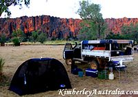 Camping at Windjana Gorge
