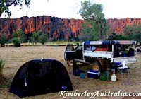 Camping at Windjana Gorge