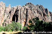 Windjana Gorge Walls