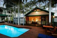 Poolside at McAlpine House, Broome
