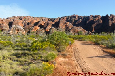 Edge of the Bungle Bungles Range