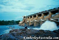 Fishing at Kununurra Diversion Dam