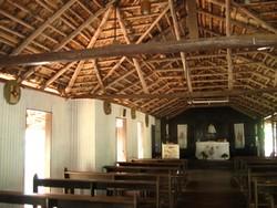 Bush church at Lombadina