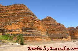 Orange domes in Purnululu