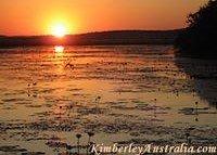 Sunset near Wyndham, Kimberly, Western Australia
