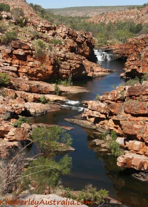 View back over Bell Gorge