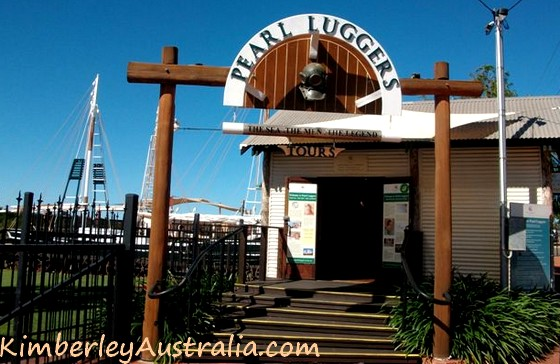 Pearl Luggers Entrance