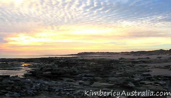 Sunset at Riddell Beach