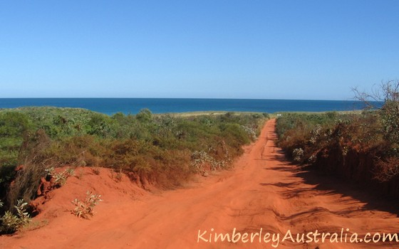 Sandy track at Cape Leveque