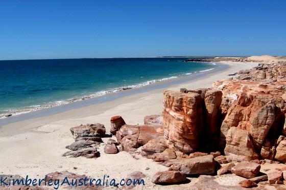 Dampier Peninsula coastline