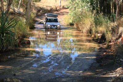 Creek Crossing on the Way to the Bungle Bungles