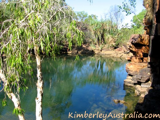 Another view of the first pool of Donkey Hole