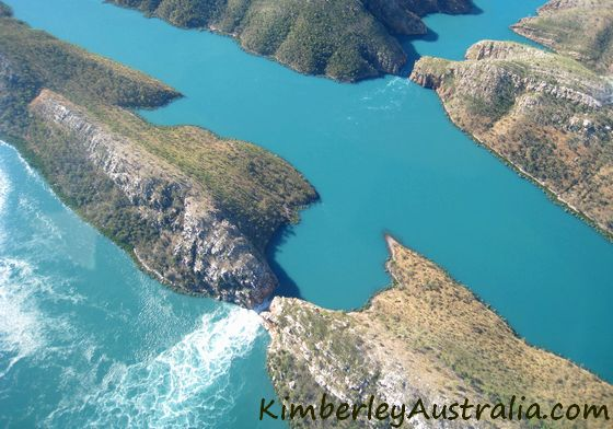 Derby draw card: the Horizontal Waterfalls