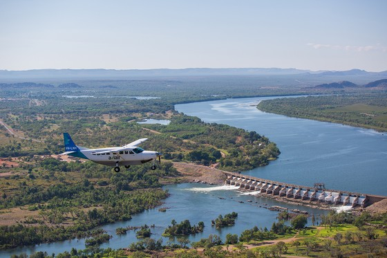 Diversion Dam near Kununurra