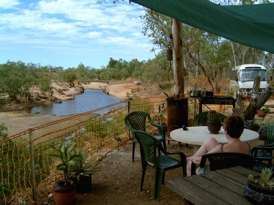 The Lennard River Crossing Snack Bar