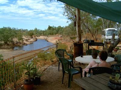 The Lennard River Crossing Snack Bar