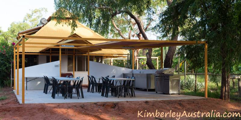 The Camp Kitchen at Birdwood Downs