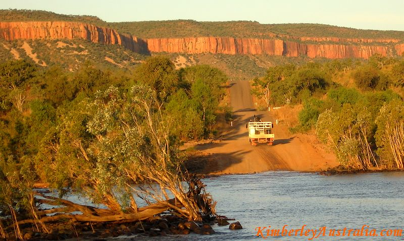 Steeper section of the Gibb River Road