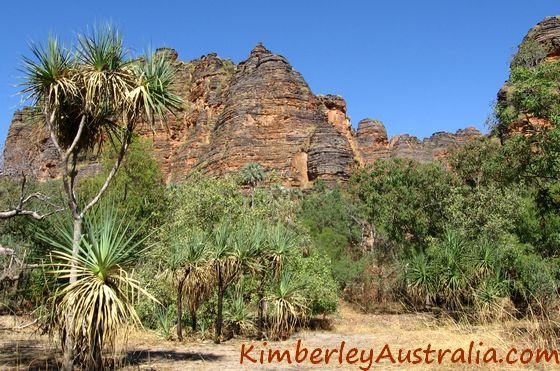 Keep River National Park, domes reminiscent of the Bungles