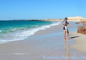 That's me on my favourite Kimberley Beach
